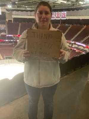Chris attended New Jersey Devils vs. St. Louis Blues - NHL on Mar 6th 2020 via VetTix
