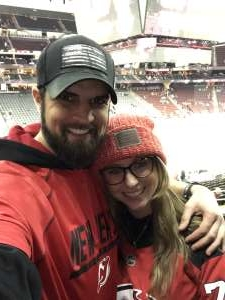 Dan  attended New Jersey Devils vs. St. Louis Blues - NHL on Mar 6th 2020 via VetTix