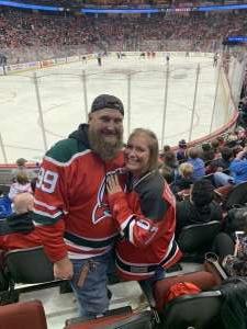 Paul attended New Jersey Devils vs. St. Louis Blues - NHL on Mar 6th 2020 via VetTix
