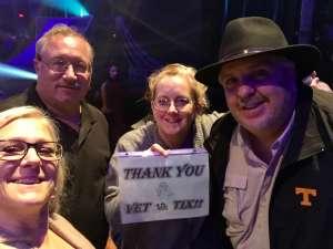 Mark attended Cirque Du Soleil: Volta on Feb 25th 2020 via VetTix