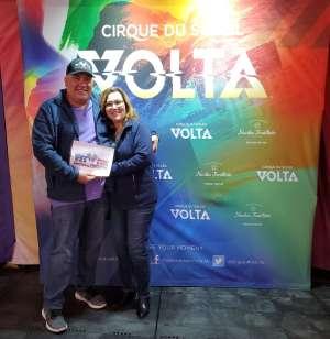 Click To Read More Feedback from Cirque Du Soleil: Volta