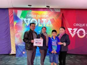 Don Nguyen attended Cirque Du Soleil: Volta on Feb 25th 2020 via VetTix