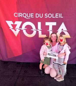 Amy attended Cirque Du Soleil: Volta on Feb 25th 2020 via VetTix