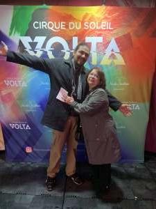 Ivan attended Cirque Du Soleil: Volta on Feb 25th 2020 via VetTix