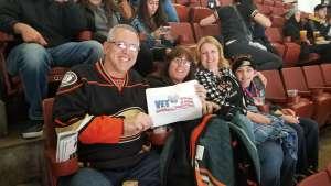 Gary attended Anaheim Ducks vs. Vegas Golden Knights - NHL - Antis Roofing Community Corner on Feb 23rd 2020 via VetTix