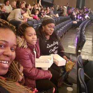 Angela attended Sesame Street Live! Let's Party! on Feb 23rd 2020 via VetTix