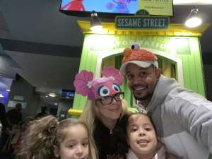 jhonatan attended Sesame Street Live! Let's Party! on Feb 23rd 2020 via VetTix