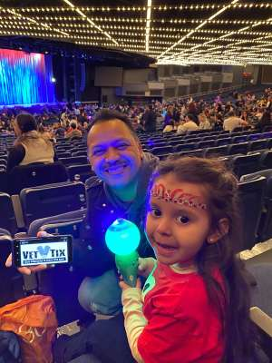 Harry Torres attended Sesame Street Live! Let's Party! on Feb 23rd 2020 via VetTix