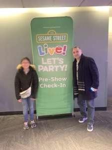 Julio attended Sesame Street Live! Let's Party! on Feb 23rd 2020 via VetTix