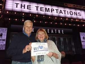 Richard attended Ain't Too Proud - The Life and Times of The Temptations on Feb 26th 2020 via VetTix