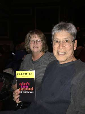 Stan attended Ain't Too Proud - The Life and Times of The Temptations on Feb 26th 2020 via VetTix