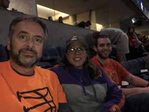 Derek attended Phoenix Suns vs. LA Clippers - NBA on Feb 26th 2020 via VetTix