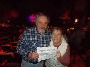 Lewis attended Finding Neverland (touring) on Feb 26th 2020 via VetTix