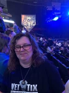 Marjory attended Kiss: End of the Road World Tour on Feb 25th 2020 via VetTix