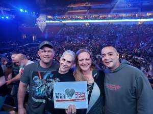William attended Kiss: End of the Road World Tour on Feb 25th 2020 via VetTix