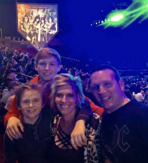 MSG Jay Bottorff attended Kiss: End of the Road World Tour on Feb 25th 2020 via VetTix