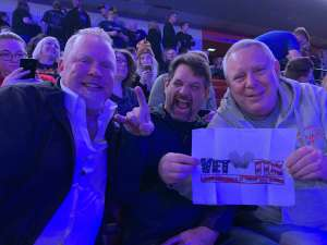 Tom Friel attended Kiss: End of the Road World Tour on Feb 25th 2020 via VetTix