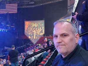 Ivan attended Kiss: End of the Road World Tour on Feb 25th 2020 via VetTix