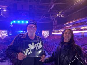 Kenny attended Kiss: End of the Road World Tour on Feb 25th 2020 via VetTix