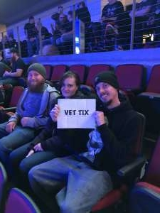 David attended Kiss: End of the Road World Tour on Feb 25th 2020 via VetTix