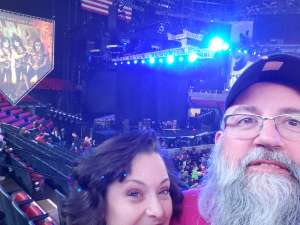 Mark attended Kiss: End of the Road World Tour on Feb 25th 2020 via VetTix