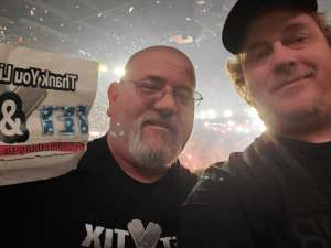 Sean attended Kiss: End of the Road World Tour on Feb 25th 2020 via VetTix