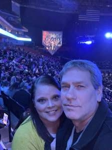 Brad attended Kiss: End of the Road World Tour on Feb 25th 2020 via VetTix