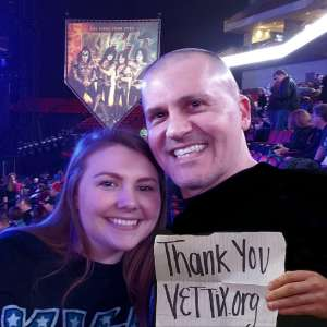 Buddy attended Kiss: End of the Road World Tour on Feb 25th 2020 via VetTix