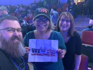 Michelle attended Kiss: End of the Road World Tour on Feb 25th 2020 via VetTix