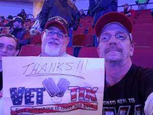 Shawn attended Kiss: End of the Road World Tour on Feb 25th 2020 via VetTix