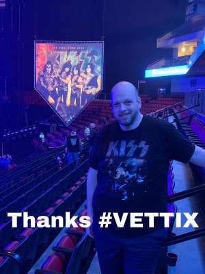 Matt attended Kiss: End of the Road World Tour on Feb 25th 2020 via VetTix