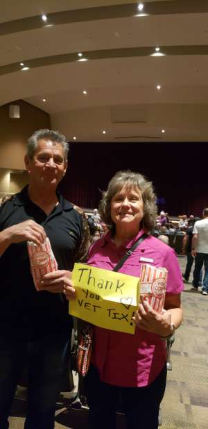 Larry attended Xavier Mortimer: Magical Shadows on Feb 29th 2020 via VetTix