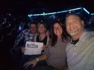 Paul Leon attended Justin Moore & Tracy Lawrence on Mar 6th 2020 via VetTix
