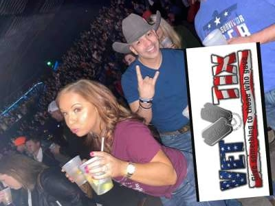 Mike attended Justin Moore & Tracy Lawrence on Mar 6th 2020 via VetTix