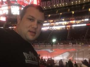 Todd Stawicki attended New Jersey Devils vs. Pittsburgh Penguins - NHL on Mar 10th 2020 via VetTix