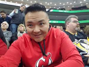 lc attended New Jersey Devils vs. Pittsburgh Penguins - NHL on Mar 10th 2020 via VetTix
