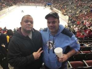 Carlos attended New Jersey Devils vs. Pittsburgh Penguins - NHL on Mar 10th 2020 via VetTix