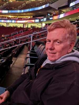Donna and Craig attended New Jersey Devils vs. Pittsburgh Penguins - NHL on Mar 10th 2020 via VetTix