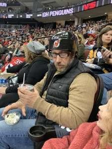 Ar attended New Jersey Devils vs. Pittsburgh Penguins - NHL on Mar 10th 2020 via VetTix