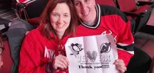 Dan attended New Jersey Devils vs. Pittsburgh Penguins - NHL on Mar 10th 2020 via VetTix