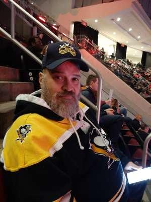 Gary attended New Jersey Devils vs. Pittsburgh Penguins - NHL on Mar 10th 2020 via VetTix