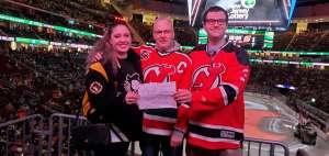 Ray attended New Jersey Devils vs. Pittsburgh Penguins - NHL on Mar 10th 2020 via VetTix