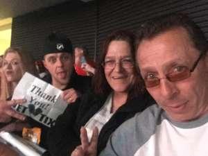 Tina attended New Jersey Devils vs. Pittsburgh Penguins - NHL on Mar 10th 2020 via VetTix