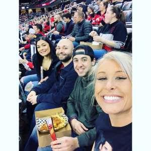 Toni attended New Jersey Devils vs. Pittsburgh Penguins - NHL on Mar 10th 2020 via VetTix