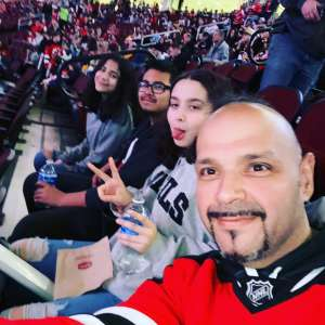 Jose attended New Jersey Devils vs. Pittsburgh Penguins - NHL on Mar 10th 2020 via VetTix