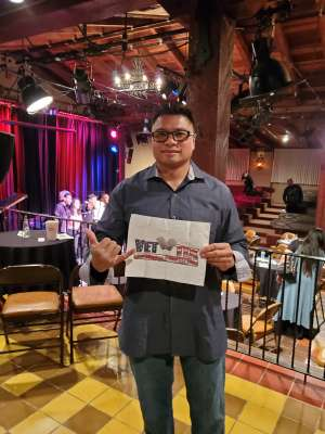 R Canilao attended Jazz Day AZ Productions co-presents: Tuena Marie and Friends on Feb 28th 2020 via VetTix