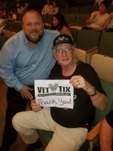 George attended Clay Walker on Feb 26th 2020 via VetTix