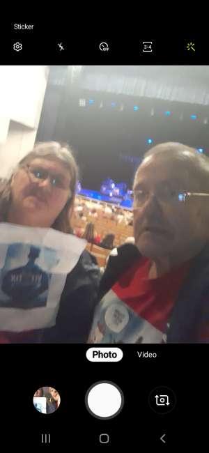 James  attended Clay Walker on Feb 26th 2020 via VetTix