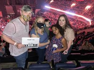 Kaley attended Dan + Shay the (arena) Tour on Sep 10th 2021 via VetTix