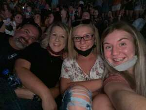 Huck attended Dan + Shay the (arena) Tour on Sep 10th 2021 via VetTix